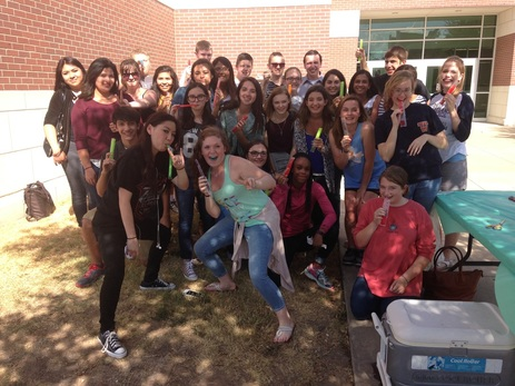 Popsicle Party 2015